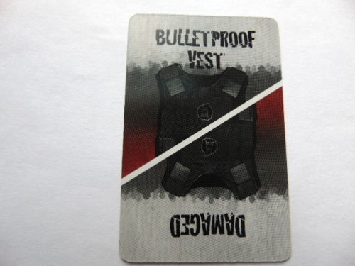 survivor equipment card (bullet proof vest)